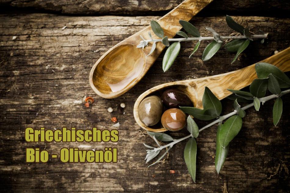 Hochwertiges kaltgepresstes griechisches Bio Olivenöl der Güteklasse natives Olivenöl Extra