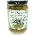 Grüne ganze Klastada Oliven, 400g Glas